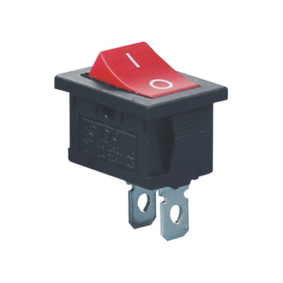 Interruttore a Bilanciere Rocker Switch ON / OFF 2 Pin KCD1 6A 250V 10A 125V