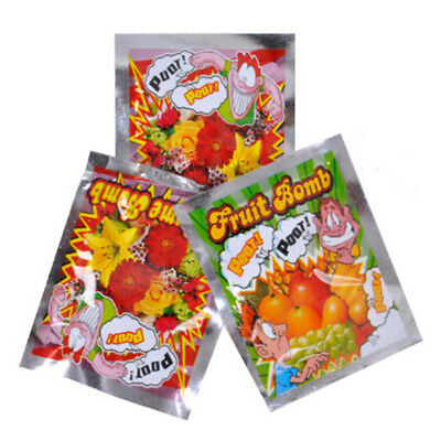 10pcs Funny Fart Bomb Bags Stink Bomb Smelly Gags Practical Jokes Fool Toy Gi Tc