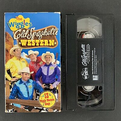 The Wiggles - Cold Spaghetti Western - VHS Tape - Tested Plays Great!