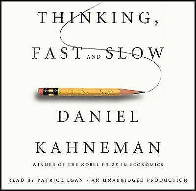 Thinking, Fast and Slow by Daniel Kahneman-MP3 audio audiobook format