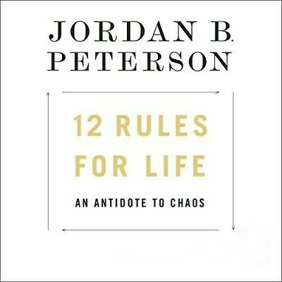 12 Rules for Life: An Antidote to Chaos  Jordan B. Peterson-MP3 audio audiobook