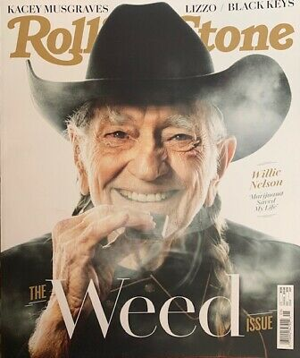Rollingstone Magazine  -  May 2019  -  Willie Nelson  -  No Mailing Labels