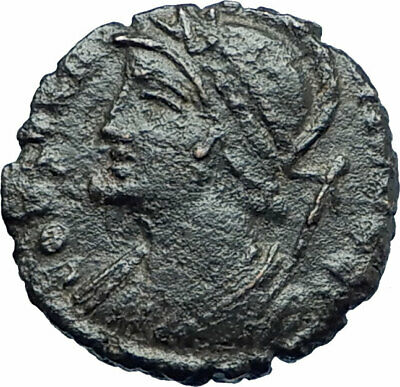 Anonymous 347AD CONSTANTINOPLE Founding Commemorative Ancient Roman Coin i79274