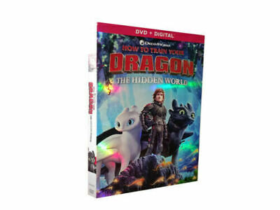 How to Train Your Dragon: (DVD,2019. 1-Disc Set) Brand New Sealed
