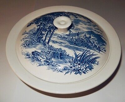 ~WEDGWOOD~ Vintage COUNTRYSIDE ENOCH COVERED VEGETABLE SERVING BOWL 🥣 England