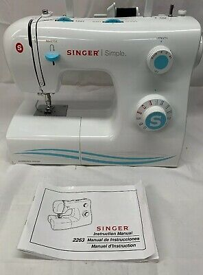 Singer Sewing Machine Model # 2263 Only NO CORDS CASE OR ACCESSORIES
