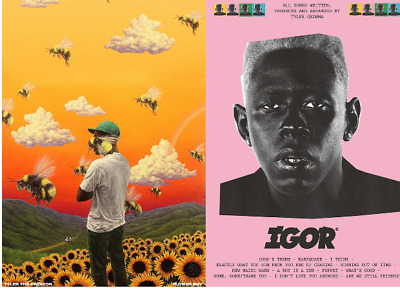 TYLER THE CREATOR Album & Single Posters A4, A3, A2 High Quality + Glossy 200gsm