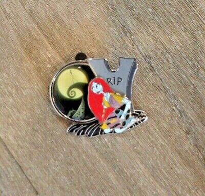 Disney Wdw 2011 Nightmare Before Christmas Sally With Spiral Hill Rip Tomb Pin