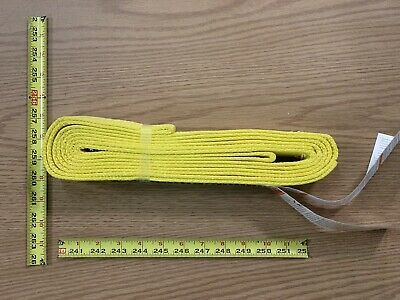 "2"" Wide Standard Nylon Lifting Sling 12 Feet Long Eye To Eye plus Tag USA Made"
