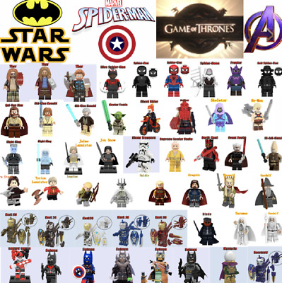 Minifigures Super Hero Mini figures Marvel AVENGERS ENDGAME Batman Superheroes