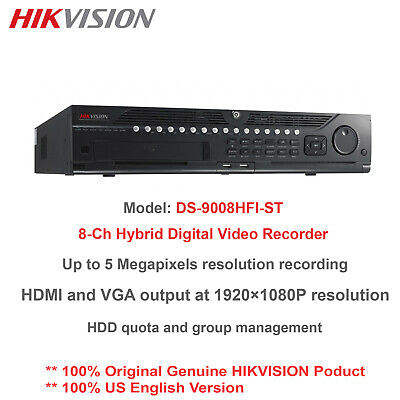 1PC NEW HIKVISION DS-7808N-F1/8P 8-channel POE network Monitoring