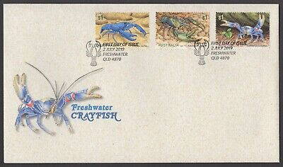 2019 Freshwater Crayfish - First Day Cover (FDC)