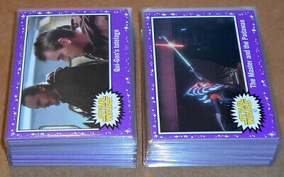 Star Wars Journey to the Last Jedi ~ PURPLE PARALLEL BASE CARD LOT (28) no dupes