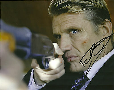 The Expendables Dolph Lundgren Signed Autographed 8x10 Photo COA