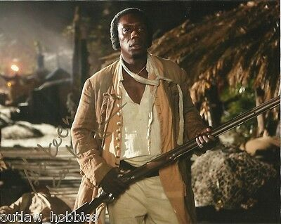 Hakeem Kae Kazim Black Sails Autographed Signed 8x10 Photo COA