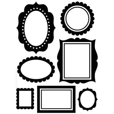 Darice Embossing Folder A2 Wall Frames