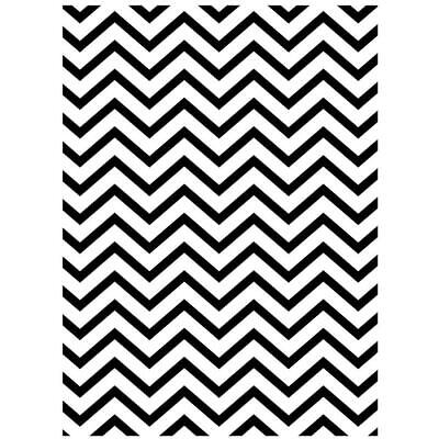 Darice Embossing Folder A2 Chevron Background