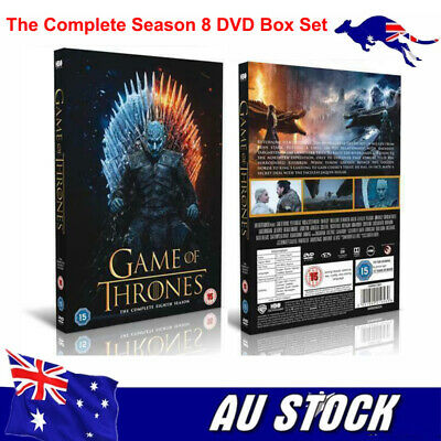 2019 Game Of Thrones DVD Box Sets The Complete Season Brand New Sealed AU STOCK