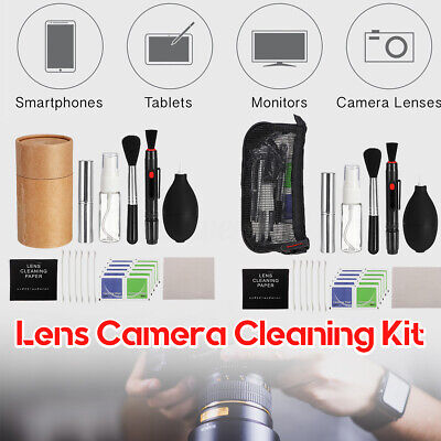 DSLR Professional Lens Camera Sensor Swab Cleaner Kit+Blower+Telescopic brush