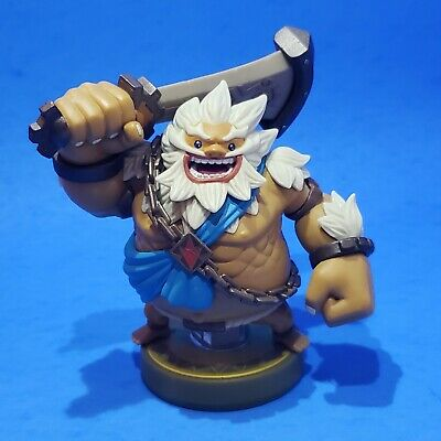 DARUK AMIIBO (GORON Champion) | Zelda: Breath of the Wild | Nintendo
