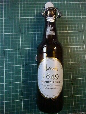 Harrods 1849 Premium Lager Collectable Beer Bottle