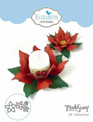 Elizabeth Craft Die Christmas Flower by Modascrap