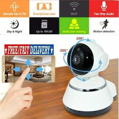 1080P HD Wireless IP Camera Home Security Smart WiFi Audio CCTV Camera UK Stock