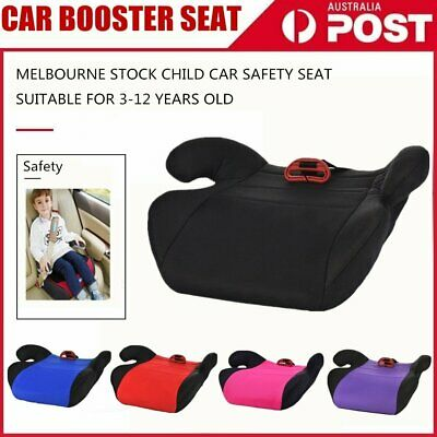 Car Booster Seat Chair Cushion Pad Toddler Children Child Kids Baby Sturdy Seat