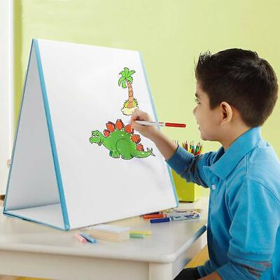 Dry Erase Tabletop Whiteboard Easel, Double Sided Magnetic White Board