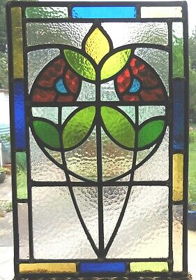 Fully Restored Stained Glass Panel - Ref Sg382