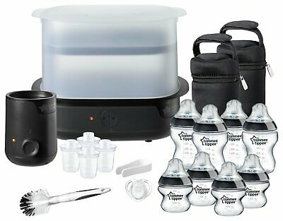 Tommee Tippee Complete Feeding Set - Black