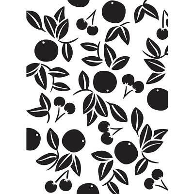 Darice A2 Embossing Folder Cherries