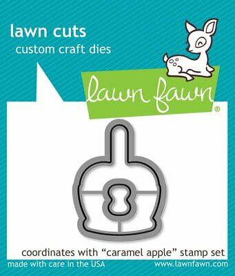 Lawn Fawn Lawn Cuts Die Caramel Apple  2pc Set