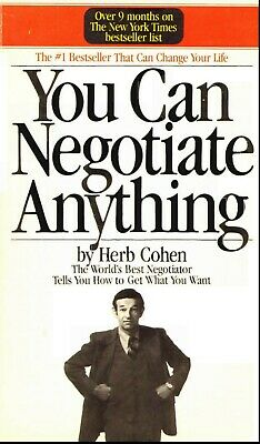 The World's Best Negotiator Tells You How To Get What You Want PDF digital book