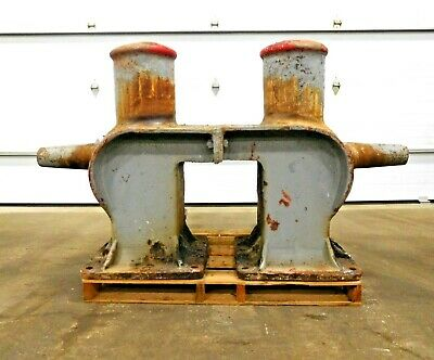 "Mo-2929, 76"" Large Steel Marine Ship Bollard Cleat"