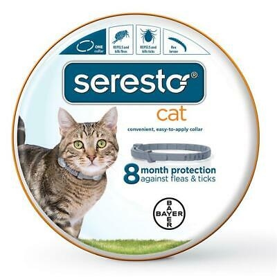 Bayer Animal Health 004BAY-80000 1 Collar Seresto Flea & Tick Collars for Cats
