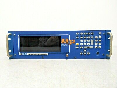 ESC ENVIROMENTAL SYSTEMS CORP 8832 DATA CONTROLLER S-132-0001 USED
