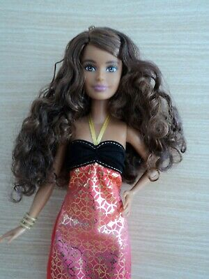Barbie Petite Fashionistas Crazy For Coral Doll  N0 24 in the Series
