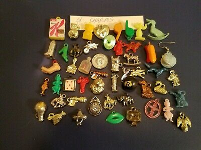 Vintage Gumball/Vending Charms/Toys Lit Of 51