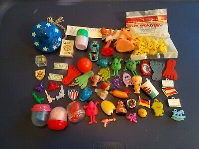 Vintage Gumball/Vending/Dime Store  Charms/Toys Lit Of 51
