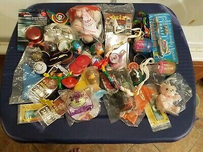 Vintage Gumball/Vending/Dime Store Charms/Toys Lot Of 45