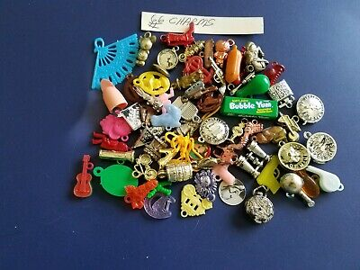 Vintage Gumball/Vending Charms/Toys Lot Of 66