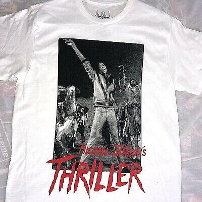 Michael Jackson Dance Poses White T Shirt New Official