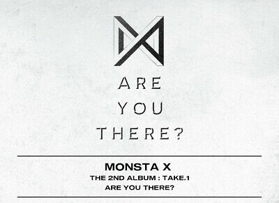 MONSTA X [TAKE.1 ARE YOU THERE?] 2nd Album(Random)- CD+P.Book+2p Card+GIFT K-POP