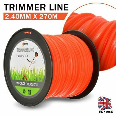Brush cutter / Strimmer / Trimmer Nylon / Cord Line 2.4mm x 270m Long
