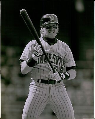 LG698 1989 Original C Rydlewski Photo DAN GLADDEN Minnesota Twins MLB Baseball