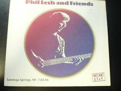 PHIL LESH & FRIENDS - Saratoga Performing Arts Center: Saratoga Springs, Ny 3 cd