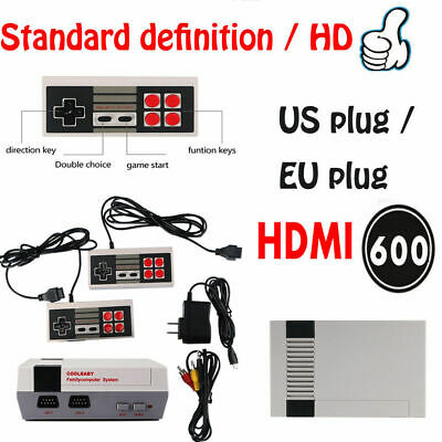 HD MINI Classic TV Video game Retro Game Console Built-In 600 Game FOR NEC 2019