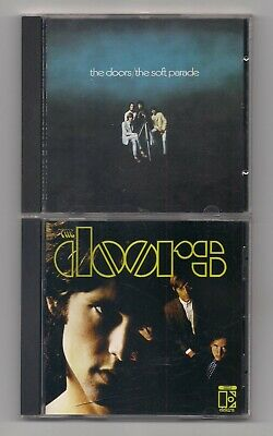 The DOORS - Lot of 2 CD's : The soft parade & The Doors S/T self titled