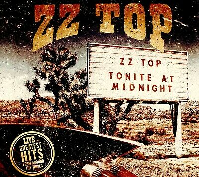 """ZZ Top """"Live - Greatest Hits From Around The World"""" 180 GRAM Vinyl 2LP NEW!"""